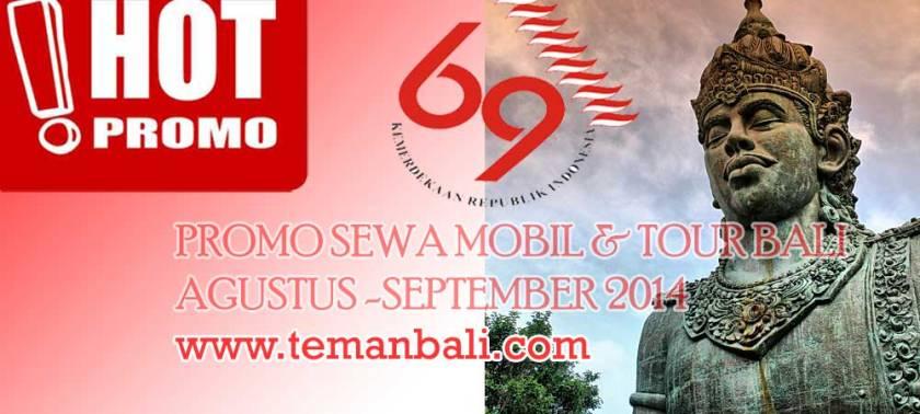 Promo Wisata Bali Agustus - September 2014