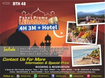 Paket Tour 4 Hari 3 Malam + Hotel - Opsi A