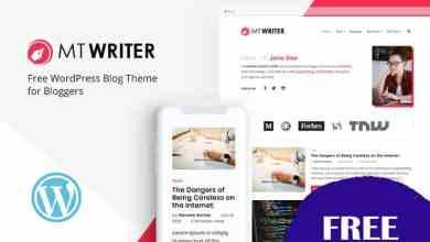 mt writer ücretsiz wordpress kişisel blog teması