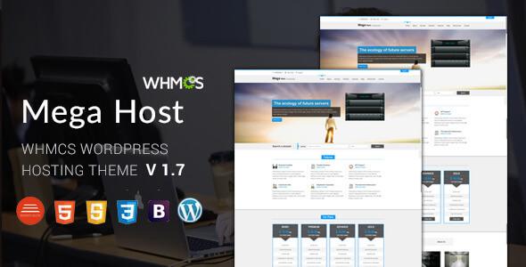 Megahost tema WordPress en español