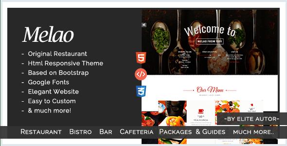 tema html para restaurante