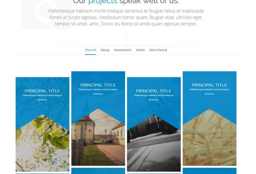Tema HTML Gratis para fotógrafos