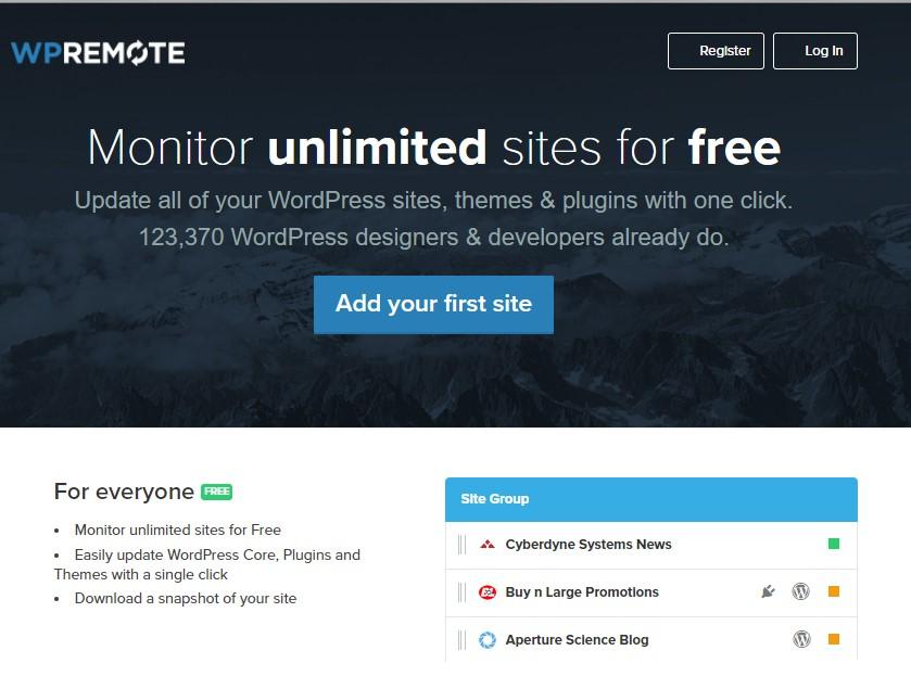 administrar Todos Tus Sitios WordPress