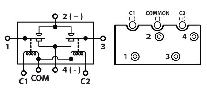 TEMCo 250 Amps DC Winch Motor Reversing Solenoid Relay