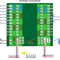 Rs485 2 Wire Connection Diagram Usb To Rj45 Wiring Precision Pt Temperature Sensor Module Temco Controls Ltd