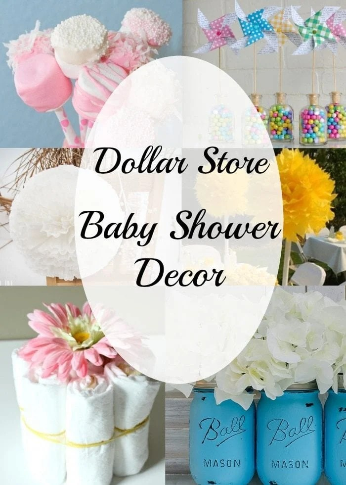 diy baby shower decorating