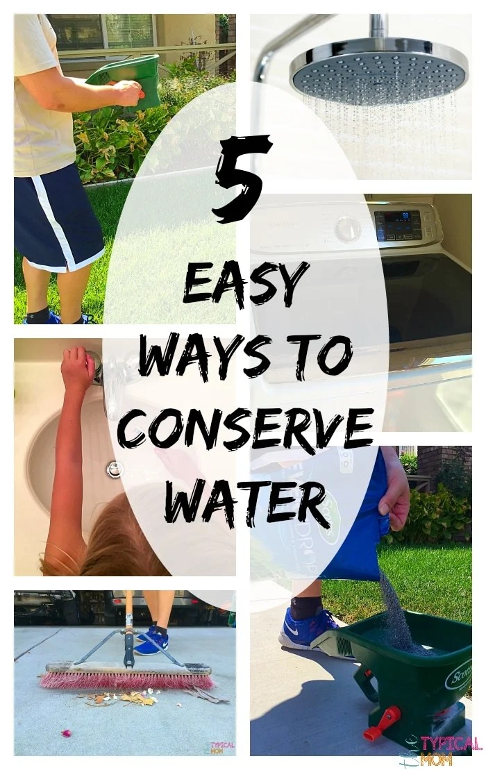 Ways to Conserve Water  The Typical Mom