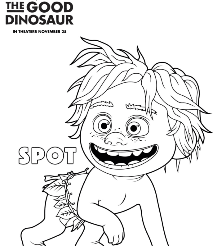 the good dinosaur free printables · the typical mom