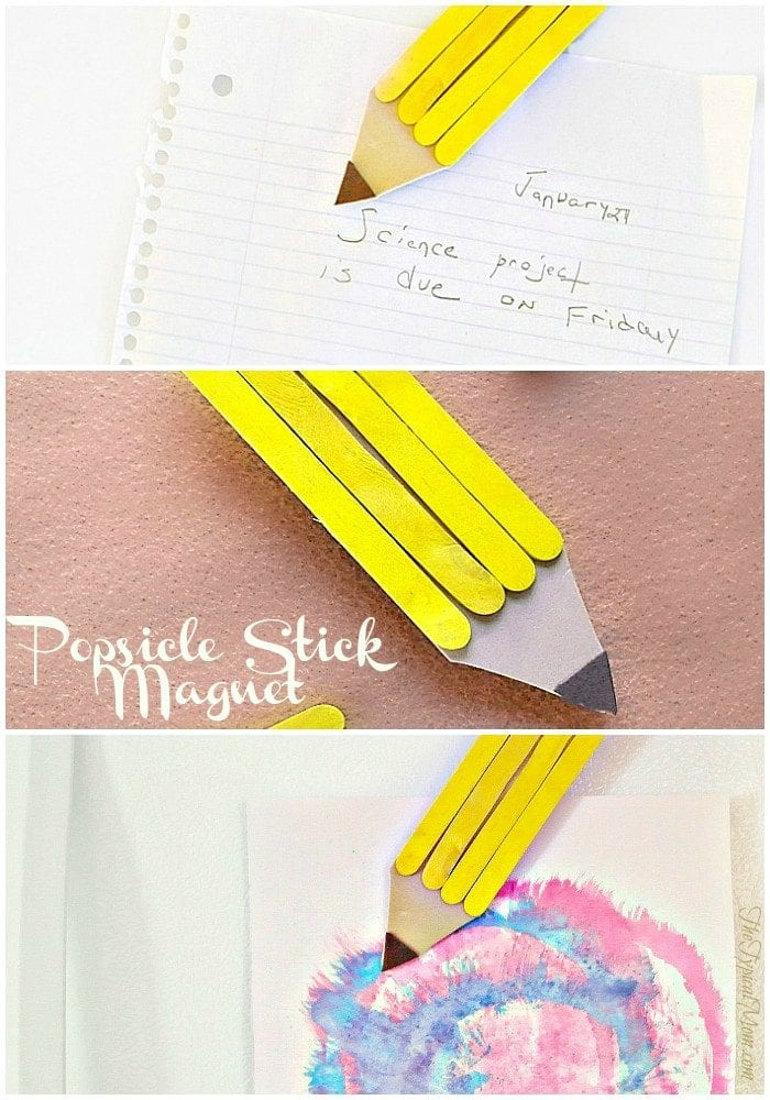 Popsicle Stick Magnet Craft The Typical Mom
