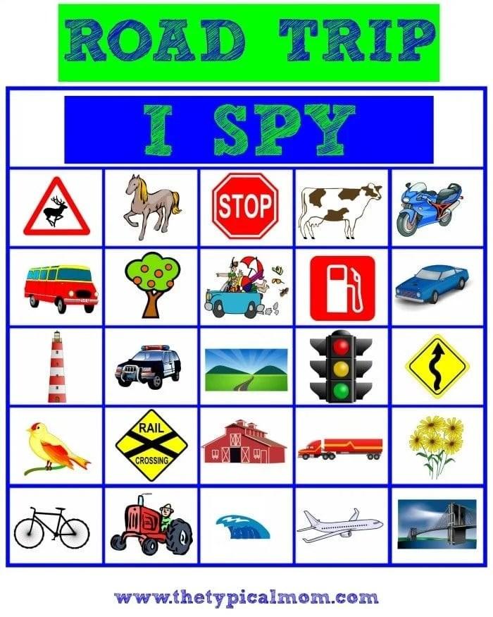 road trip i spy
