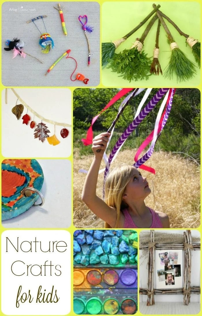 Nature crafts  The Typical Mom