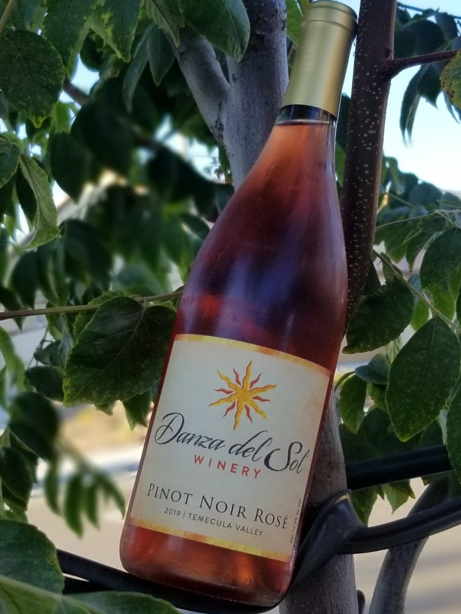 Danza del Sol 2019 Pinot Noir Rosé