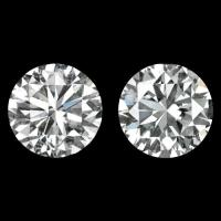 1.5ct E-F COLOR IDEAL CUT DIAMOND STUD EARRINGS CLEAN ...