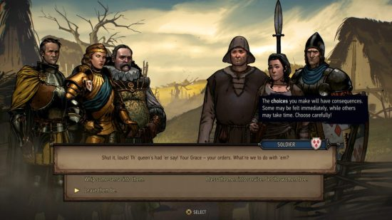 Thronebreaker: The Witcher Tales Decision