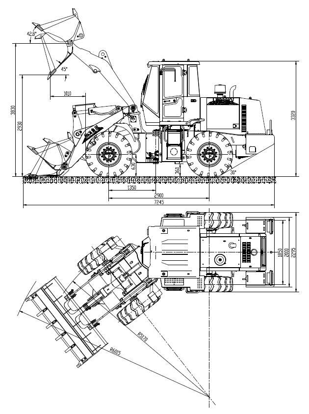 Фронтальный погрузчик  XCMG LW300КN