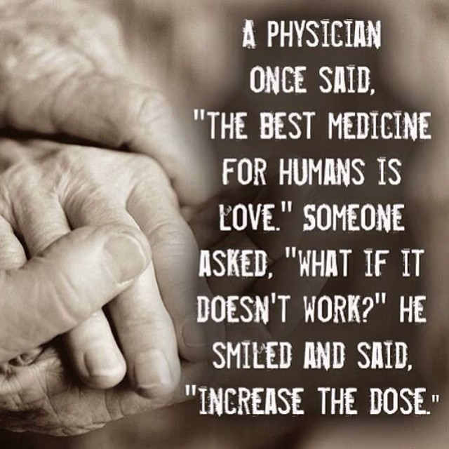 Image result for love is the best medicine