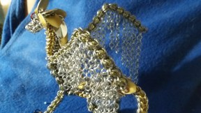 Chainmaille Dragon upback side