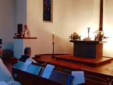 Andacht der Komturei St. Georg