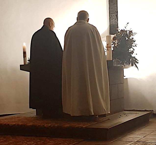 Gemeinsame Vesper der Templer und Johanniter