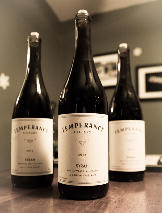 Wines from Temperance Cellars