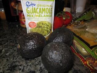 Perfectly ripened avocados & Frontera Guacamole mix.