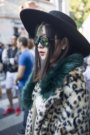 The 2016 Shanghai Fashionista via Women's Wear Daily.