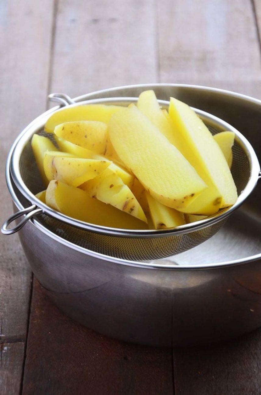 Batata pré-cozida