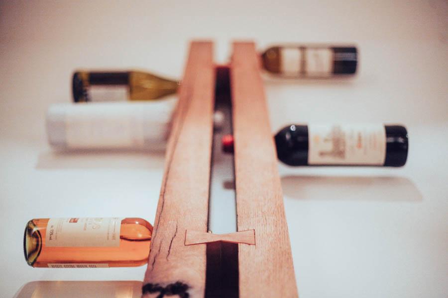Twin BEAM Wine Rack