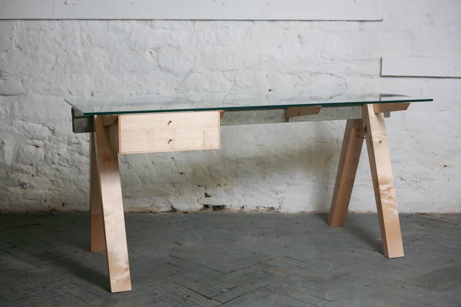 BEAM Desk + Drawers