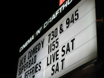 marquee for improv