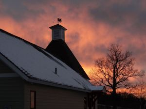 The Hop Kiln at Sunset (Photo Courtesy of Hopshire)