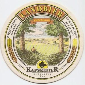 Kapsreiter Landbier Coaster