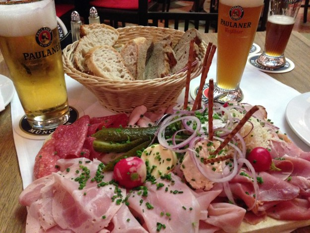 You won't go hungry in Bavaria.