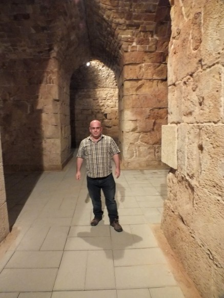 Recently discovered halls of the Hospitallers