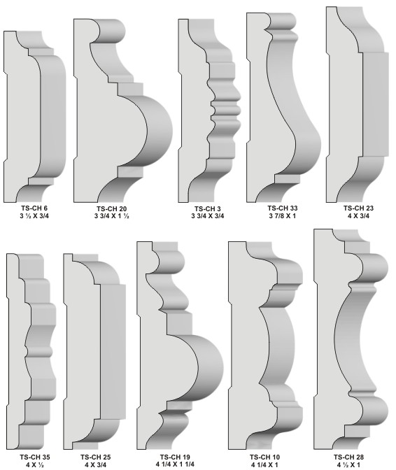 chair rail molding profiles staples stacking chairs moulding knives