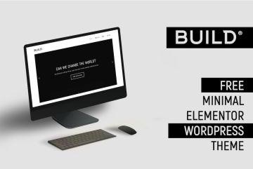 Build Free Minimal Elementor Theme