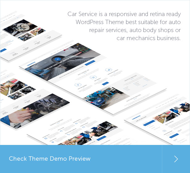 Car Service Shop WordPress Themes