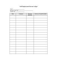Number Line Worksheets  Self Employment Worksheets Income ...