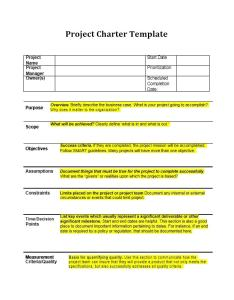 Project charter template also templates  samples excel word archive rh templatearchive