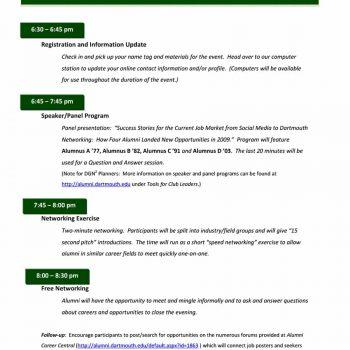 40 free event program