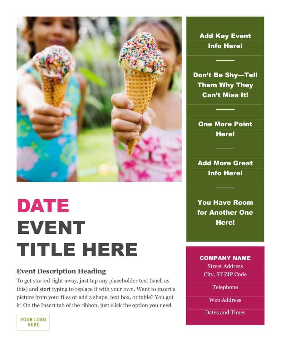 Event Program Template 42