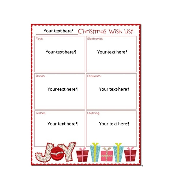 Christmas List Maker.Puzzle Pages Free Printable Christmas Picture Game Fun