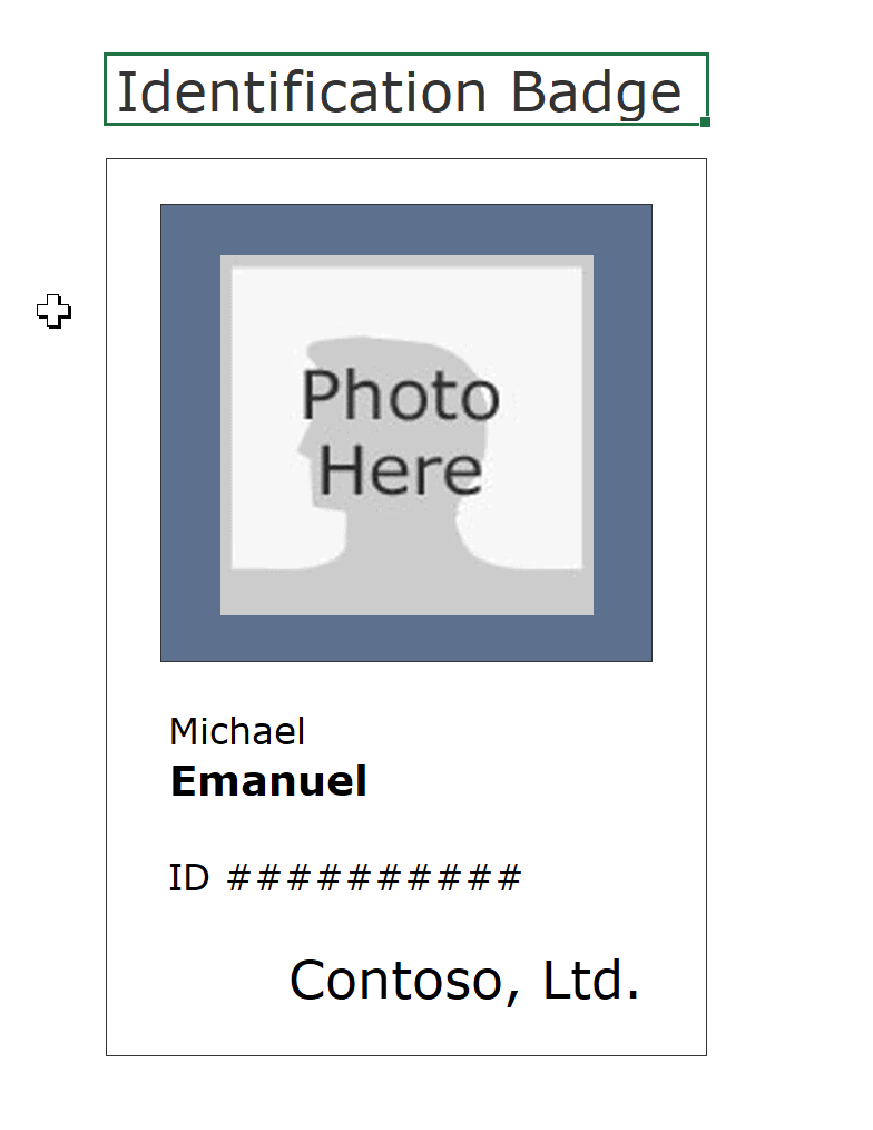 hight resolution of download id badge template 1 19 kb