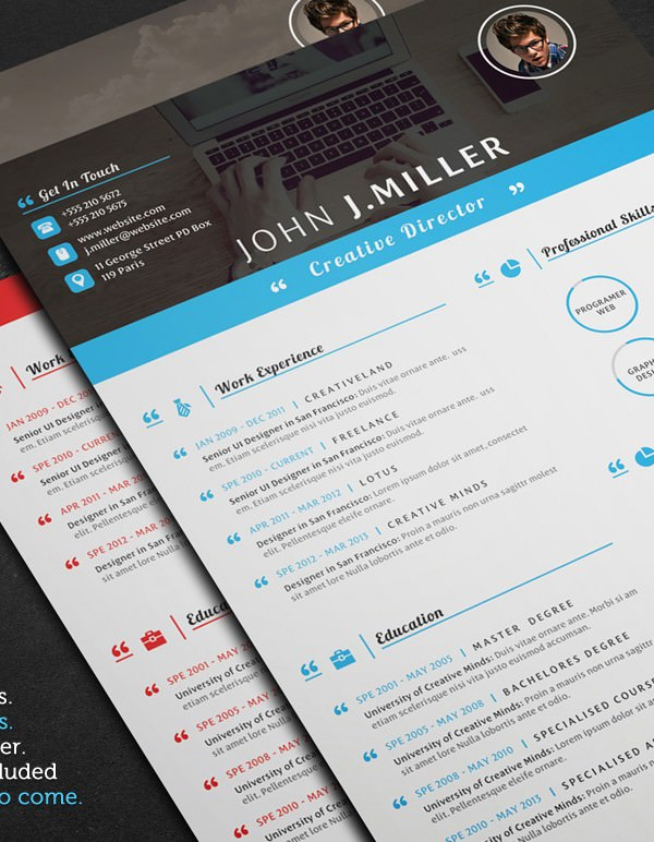 Mac Resume Template – Great for More Professional yet Attractive ...