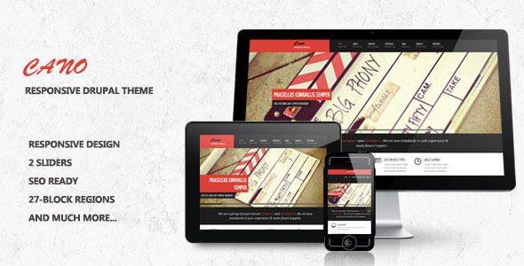 78+ Top Best Responsive Drupal Themes Free & Premium - Templatefor