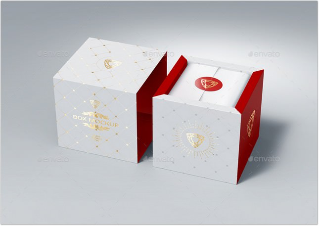 Download 30+ Best Gift Box Mockup PSD Templates - Templatefor