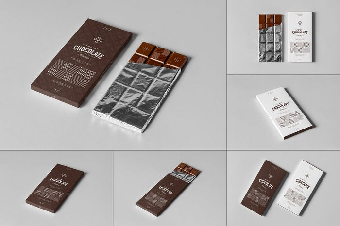Download 30+ Best Chocolate Packaging Mockup Templates 2020 ...