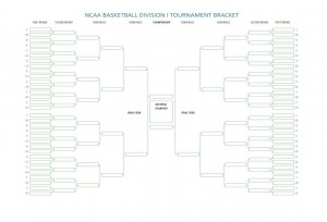 NCAA Basketball Tournament Bracket » Template Haven