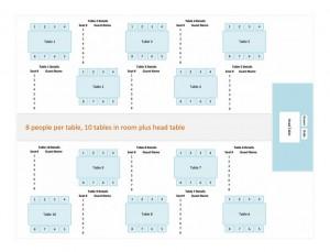 free wedding seating chart maker
