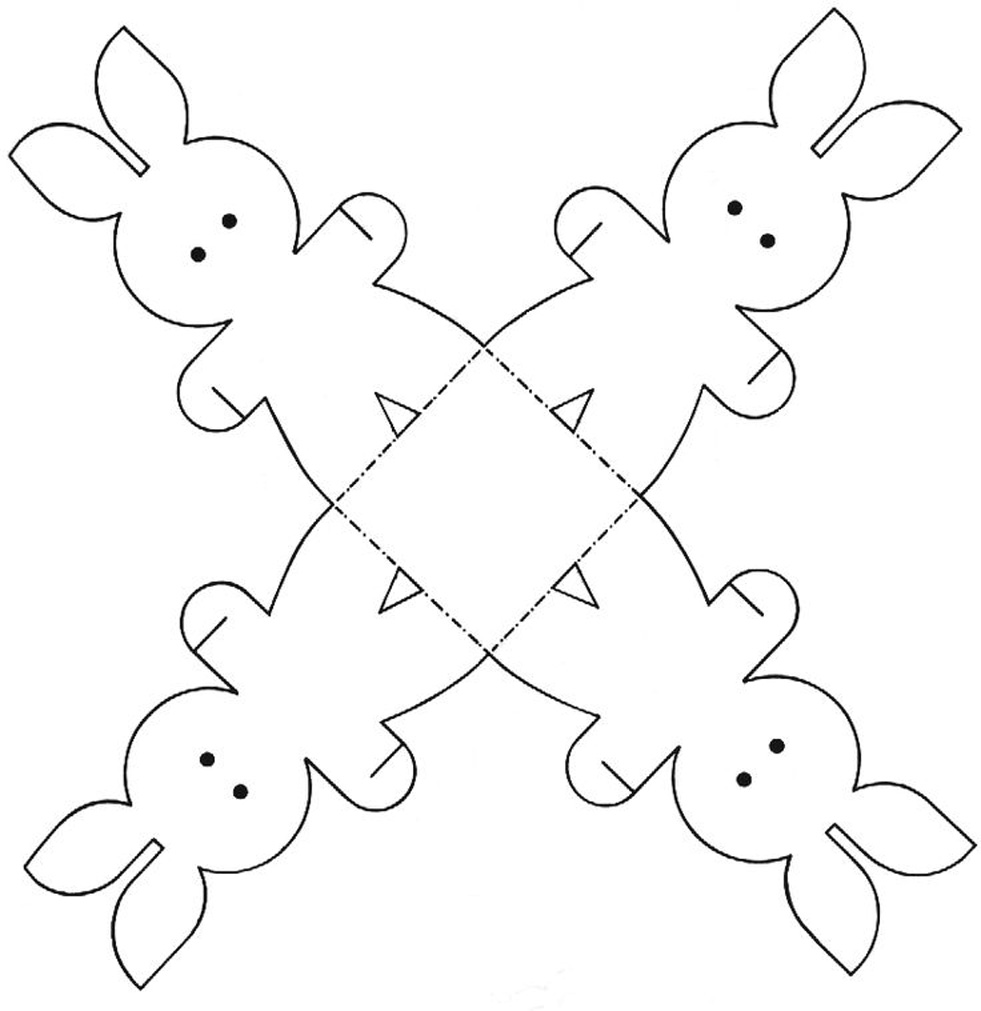 Easter Templates: Free Easter Decorations and Cut-Outs